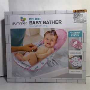 Summer Deluxe Infant Baby Bather Sling
